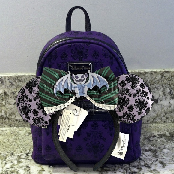 eed7006e7a0 Disney Loungefly Haunted Mansion Backpack   Ears